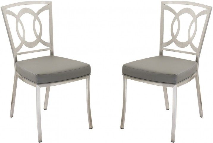 Drake Gray Dining Chair Set of 2