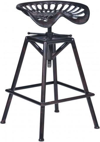 Osbourne Copper Adjustable Barstool