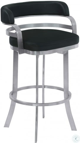 Peachy Prinz Black 26 Counter Height Metal Swivel Barstool Gmtry Best Dining Table And Chair Ideas Images Gmtryco