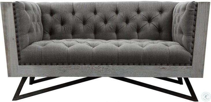 Regis Grey Living Room Set