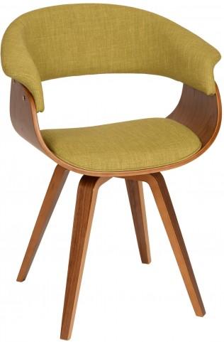 Summer Green Fabric Modern Chair