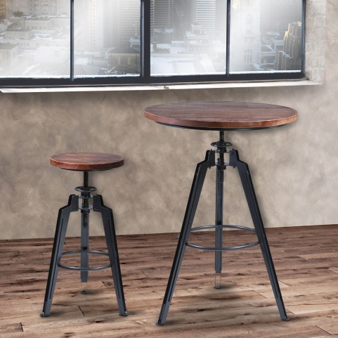 Tribeca Gray Pub Set