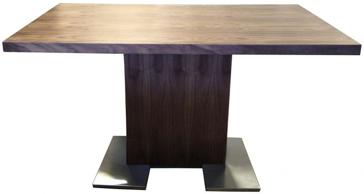 Zenith Brown Dining Table