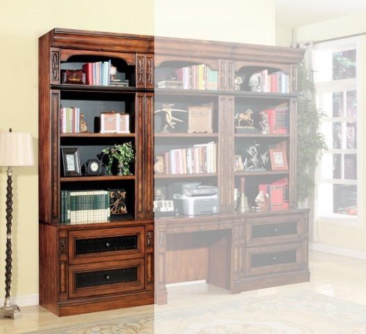 Leonardo 2pc Lateral File & Hutch