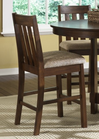Urban Mission 24 Inch Upholstered Barstool Set of 2