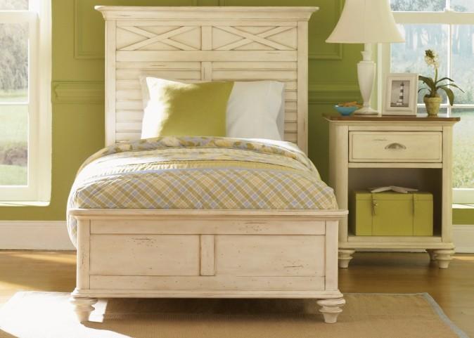 Ocean Isle Twin Panel Bed