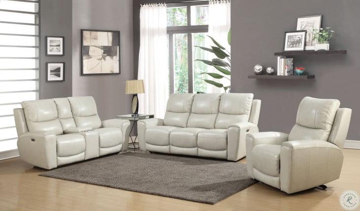 Laurel Ivory Power Reclining Living Room Set