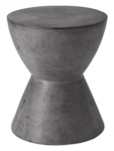 Logan Anthracite Grey End Table
