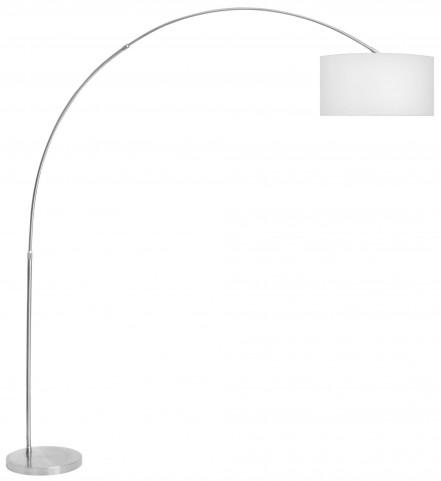 Salon White Floor Lamp