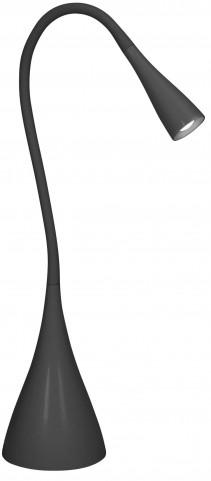 Gripp Black LED Lamp
