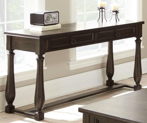 Leona Charcoal Sofa Table