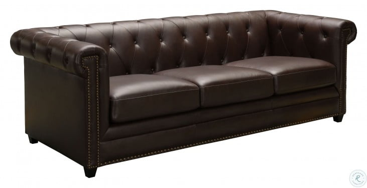 Astonishing Barrington Brown Leather Sofa Pabps2019 Chair Design Images Pabps2019Com