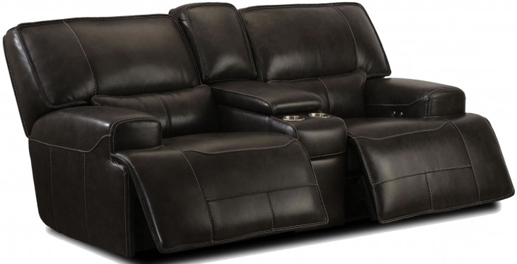 Denali Power Reclining Console Loveseat