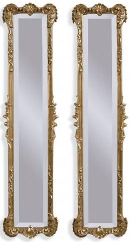 Helena 2 Panel Gold Leaf Mirrors