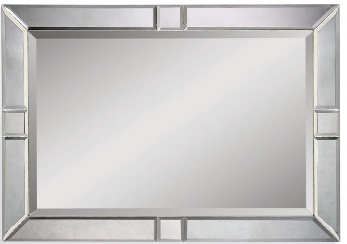 Barbarella Wood Frame Wall Mirror