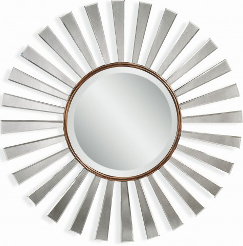 Fiorenza Bronze Gold Wall Mirror