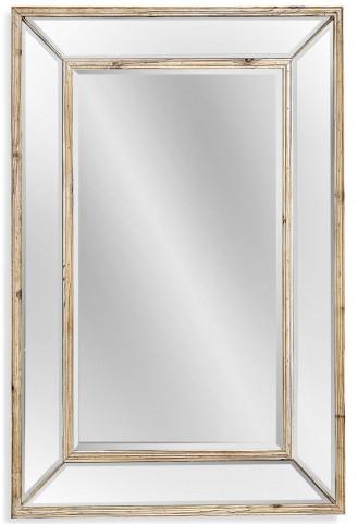 Pompano Scrubbed Pine Wall Mirror