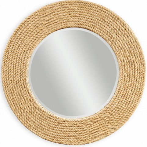 Palimar Sisal Rope Frame Wall Mirror