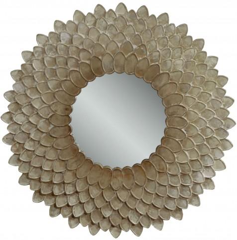 Chloe Pearlescent Wall Mirror