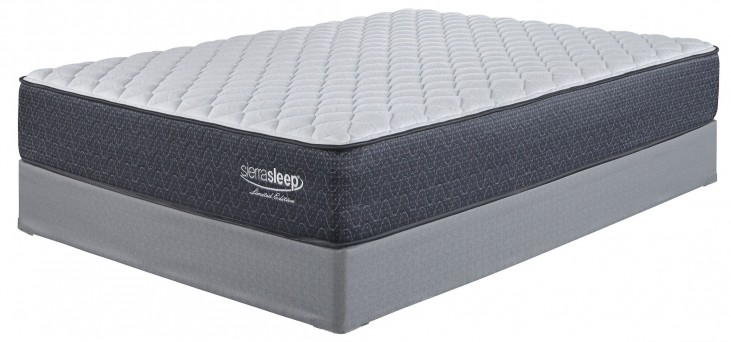 White Full Firm Mattress With Foundation