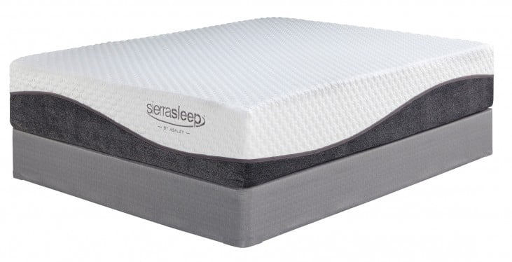 13 Mygel Hybrid White Queen Mattress From Ashley M82731 Coleman