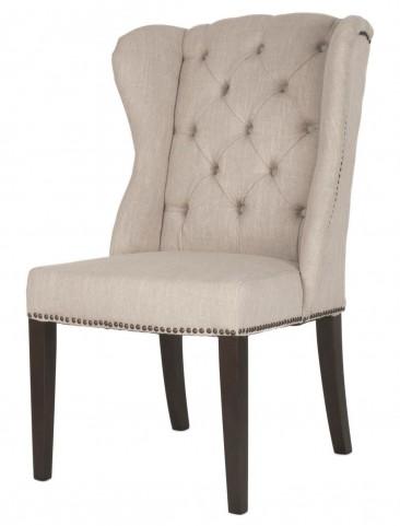 Maison Espresso Birch Fabric Dining Chair