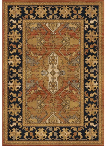 Orian Rugs Unique Coloring Leaves Bergama Tan Area Large Rug