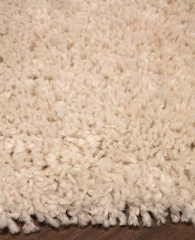 Maroq Solid Cream Soft Touch Large Rug