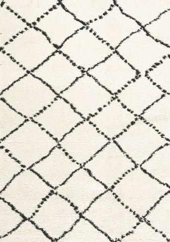 Maroq Black/White Diamonds Soft Touch Small Rug