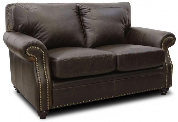 Mason Italian Leather Loveseat