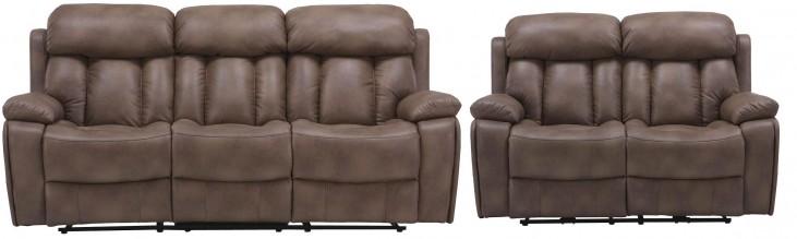 Baron Balsam Dual Power Reclining Living Room Set