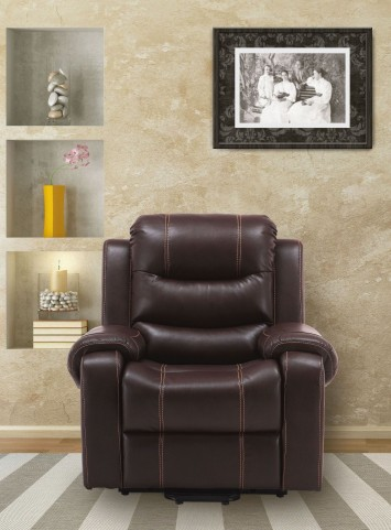 Brahms Mahogany Reclining Lift Chair