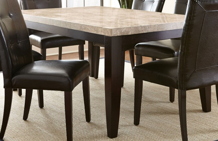 Monarch Cordovan Dark Cherry Square Counter Height Dining Table