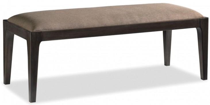 Messina Smokey Brown Bench