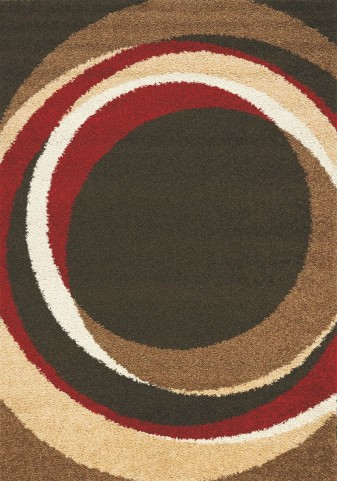 "Milo Autumn Circles 63"" Rug"