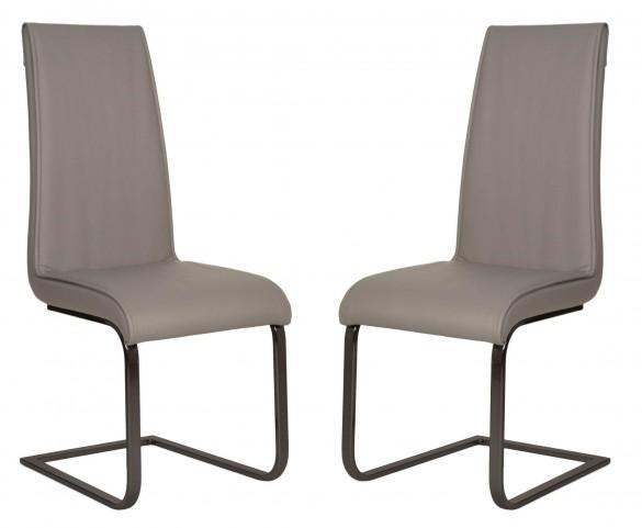 Regis Milo Gray Dining Chair Set of 2