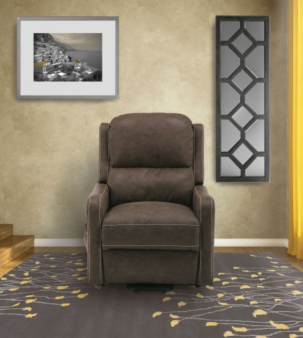 Joplin Chinchilla Lay Flat Reclining Lift Chair