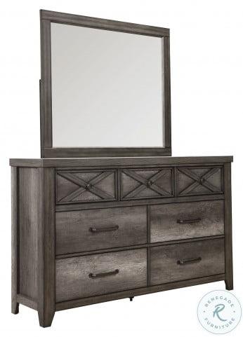 Xavier Gray Drawer Dresser