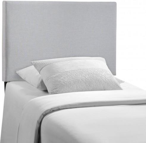 Region Gray Twin Upholstered Headboard