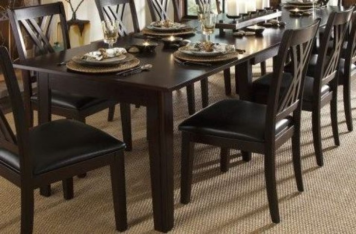 Montreal 132 Rich Cognac Extendable Rectangular Dining Table From A
