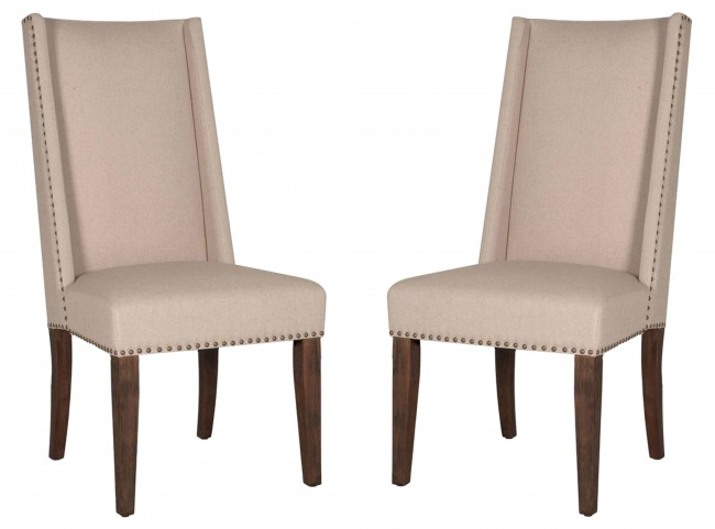 Morgan Rustic Java Dining Chair Set of 2