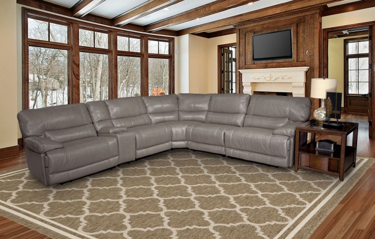 Pegasus Sahara Power Reclining Sectional