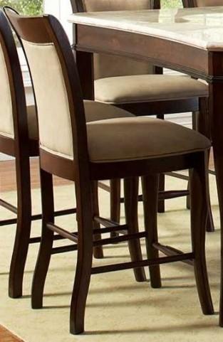 Marseille Merlot Cherry Counter Chair Set of 2