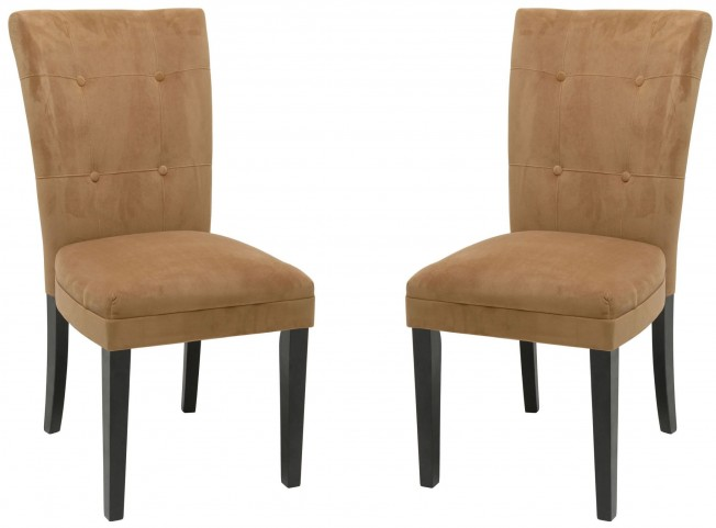 Matinee Camel Parsons Chair Set of 2