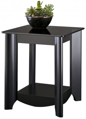 Buena Vista Classic Black End Table Set of 2