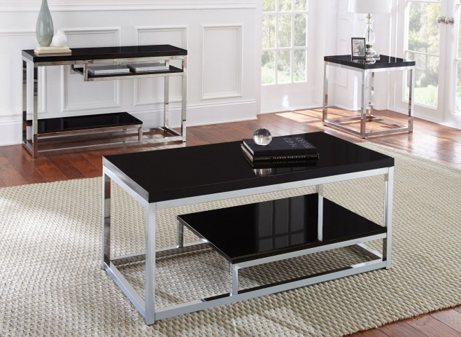 Madelyn Lacquer Occasional Table Set