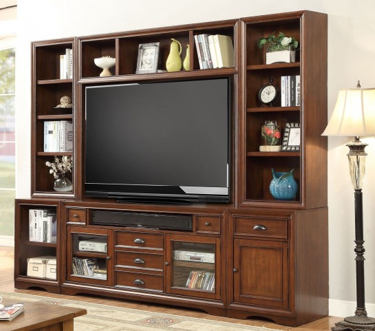 Napa Bourbon 6Pc TV Entertainment Wall