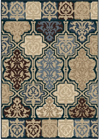 Orian Rugs Indoor/Outdoor Geometric Yandell Multi Area Small Rug