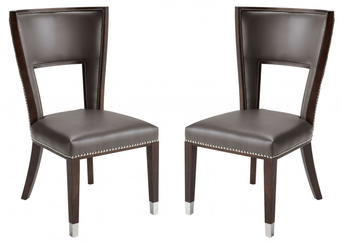 Naples Grey Dining Chair Set of 2