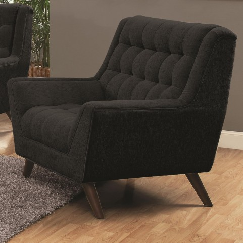 Natalia Black Living Room Chair